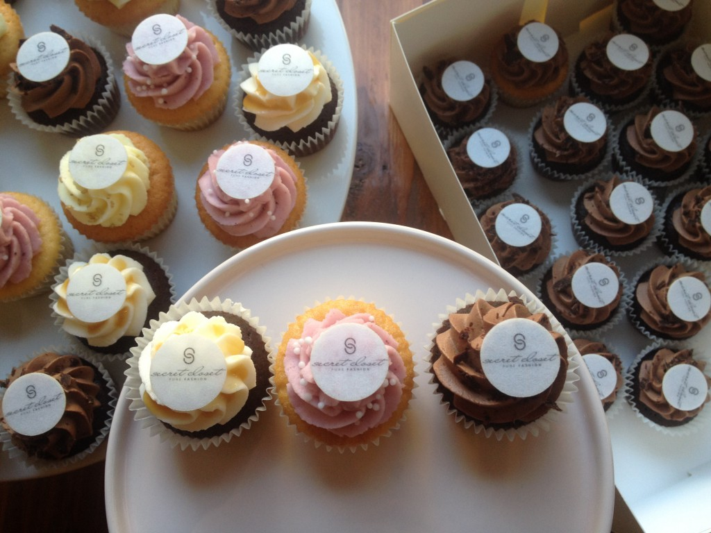 Mini Cupcakes mit Oblate